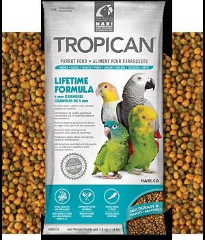 Tropican Lifetime bird food