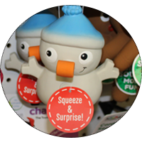 Snowman Chew Toy